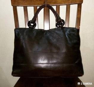Tote Bag Leather Unbrand