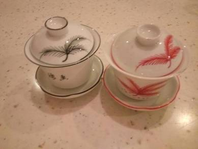 Chinese Tea Cup Set with Cover