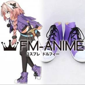 Fate Apocrypha Astolfo Rider Servant cosplay shoes