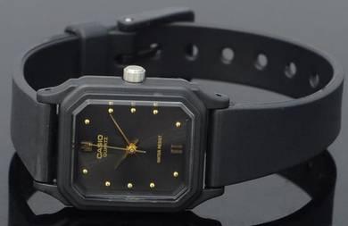Casio Lady Classic Square Rubber Watch LQ-142E-1AD