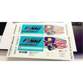 F1 Finale Ticket For Letgo �💨