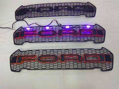 Ford ranger t 7 led front grill 2 TONE COLOUR