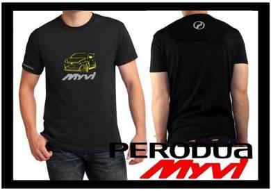 Tshirt Baju PERODUA MYVI P6 TSV Siap Pos Laju