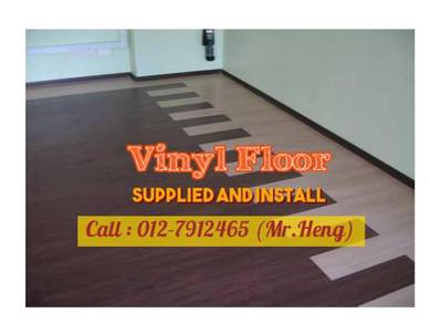 NEW Made Vinyl Floor with Install 77DF7
