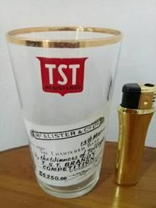 119 Antik gelas tst mc alister not coke pepsi glas