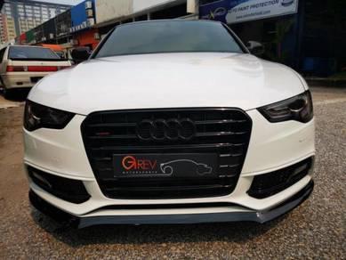 Audi A5 S line front bumper lips