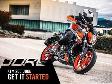 KTM DUKE 200 (BAD payment record BOLEH apply!!!)