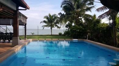 Port Dickson Swimming Pool Seaside Villa