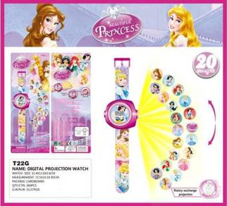 3D Digital Projection Watch Jam Tangan - PRINCESS