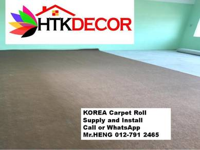 Specialists installation of Carpet Rolls 134LE