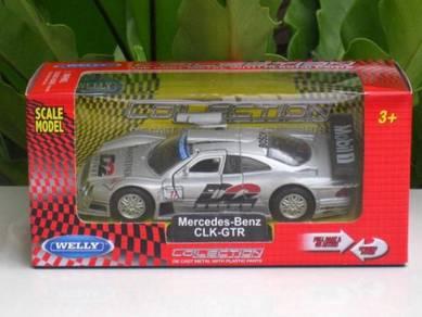 Welly (11cm) Mercedes Benz CLK-GTR D2 Privat # 11