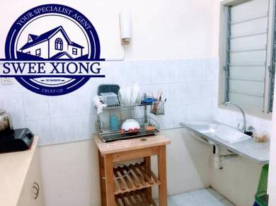 TAMAN KHENG TIAN 700SF 1CPk FullyFurnished JELUTONG CHEAPEST RENT