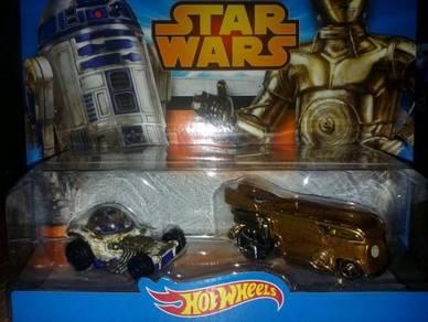 Hotwheel Star Wars C3P0 & R2D2 Car