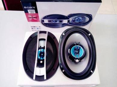 Speaker SONY 6x9 600watt 3 Way Bujur - BARU