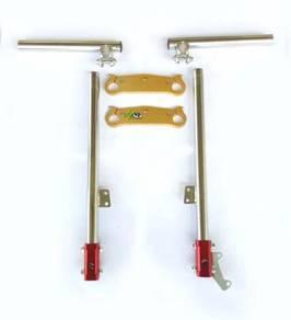 Pocket Bike Clamp Fork Handle Bar