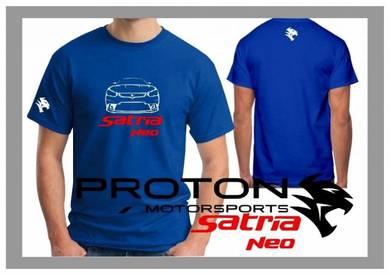 Tshirt Baju PROTON SATRIA NEO P7 TSV Siap Pos Laju