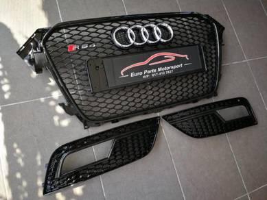 Audi A4 RS4 B8.5 Facelift Honeycomb Fog Lamp Cover