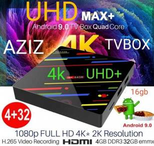 64Max Tx6 t9 android Box Msia 4k+ evpad 3s TV box