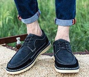 M0238 Black Classic Formal Casual Kasut Shoes
