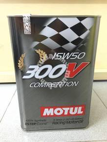 MOTUL 300V Competition 15W50 - 5 Lit Engine Oil