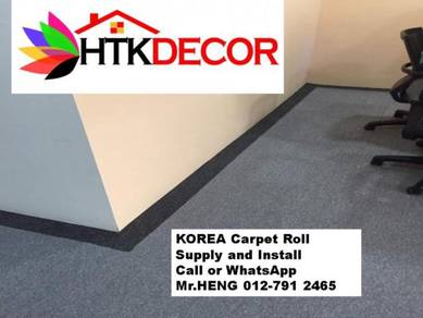 Specialists installation of Carpet Rolls 134MN