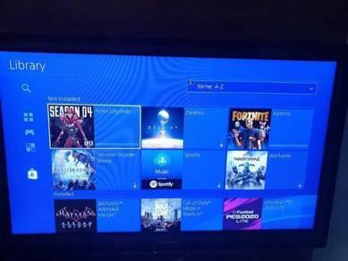 PS4 PS 4 PSN ID account 10Games Batman Watch Dog 2