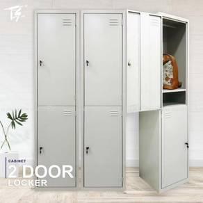 2 Drawer High 382x382x1828mm Cabinet