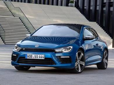 Volkswagen Scirocco R Facelift 2015 design Bodykit