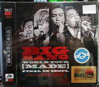 CD BIGBANG World Tour Made Final In Seoul 3CD