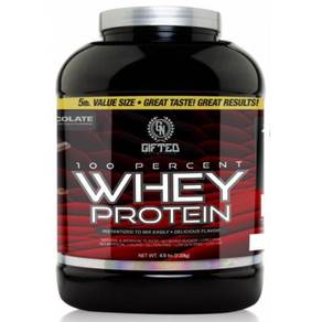 GIFTED 100% WHEY PROTEIN 5lbs - Muscle Otot Protin