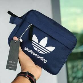 Clutch Branded Adidas, Vans, Thrasher