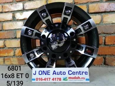 Metal mulisha wheels 16inc jimny feroza vitara