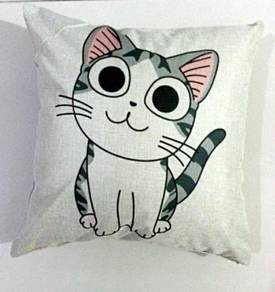 Kucing cat cushion cover pillow case bantal sarung
