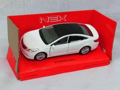Welly 11CM Hyundai Azera White
