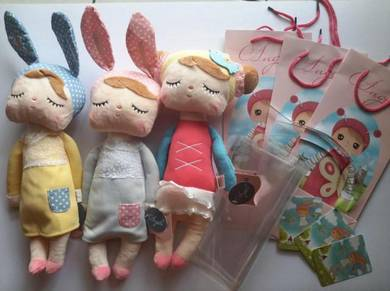 Cute Angela MeToo Soft Plush Toy with Paper bag