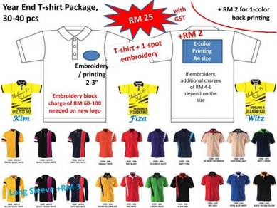 Embroidery(Sulam),Printing,Collar,PK,T-shirt