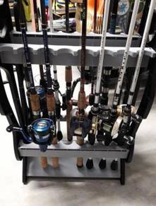 Fishing Rod Racks 16 Slot /Joran Pancing / Rod