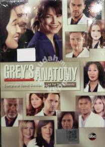 DVD Grey's Anatomy Complete Tenth Season