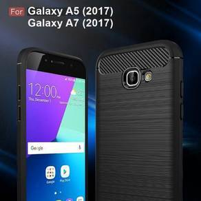 Samsung A7 2017 Black TPU case