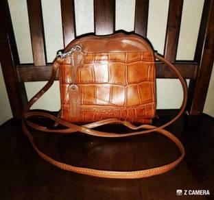 Sling Bag Alligator Leather La Maree