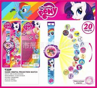 3D Watch Jam Tangan- MY LITTLE PONY