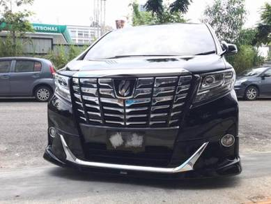 Alphard ANGH30 Normal Body Modellista Bodykit