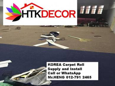 The best carpets roll with installation 137AK