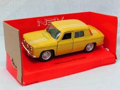 Welly 11cm Renault R8 Gordini Classics Car