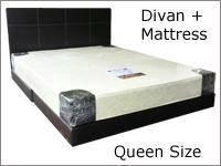 Divan bed / katil queen size
