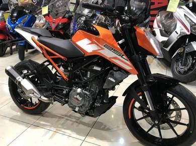 2018 KTM Duke 250 ABS ~ With Exhaust