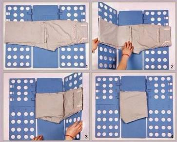 Clother folder (pelipat baju ajaib)