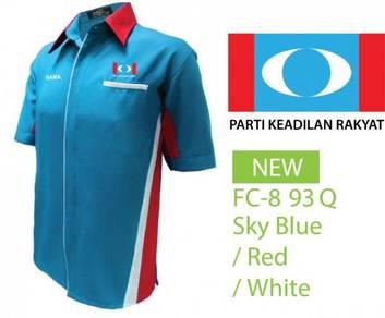 Baju Kemeja Korporat Parti Keadilan Rakyat PKR V5M