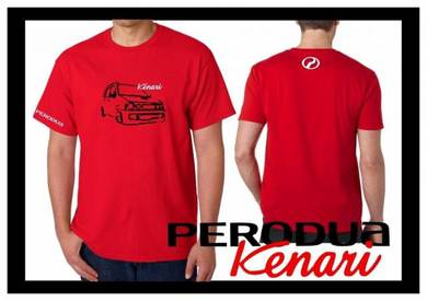 Tshirt Baju PERODUA KENARI P5 TSV Siap Pos Laju