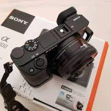 Sony A6000 with Lenses and Accessories